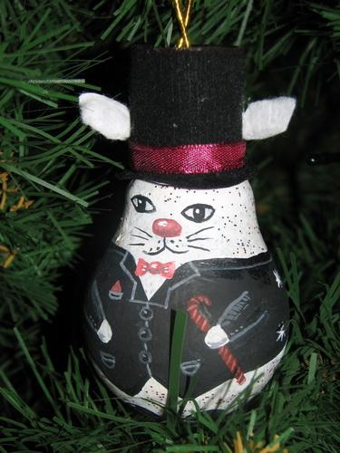 Дед мороз из лампочки