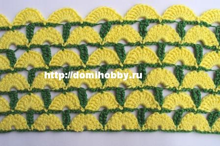 Blusa de Croche c Barra em Diagonal gr RoseCrochet (448x298, 47Kb)