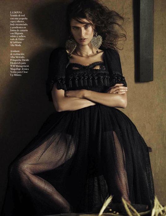 Бьянка Балти на страницах Vogue Spain9 (536x700, 88Kb)