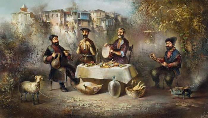 Старый тбилиси художник важа месхи
