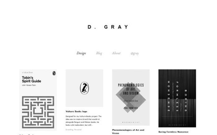 Примеры красивых минималистических дизайнов сайта Фотографии