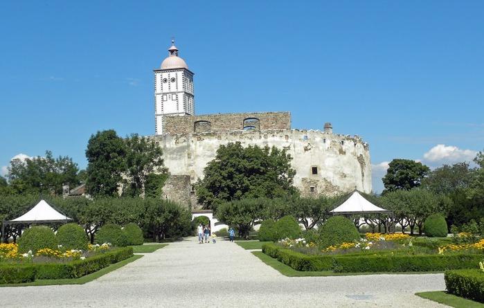 Замок Шаллабург (Schallaburg Castle) - прекрасный замок эпохи Возрождения. 38515