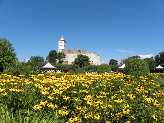Замок Шаллабург (Schallaburg Castle) - прекрасный замок эпохи Возрождения. 73287
