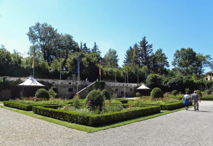 Замок Шаллабург (Schallaburg Castle) - прекрасный замок эпохи Возрождения. 99547