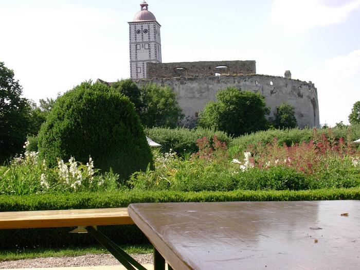 Замок Шаллабург (Schallaburg Castle) - прекрасный замок эпохи Возрождения. 76483