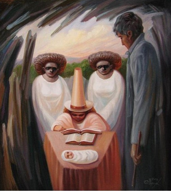 оптические иллюзии картинки обманы