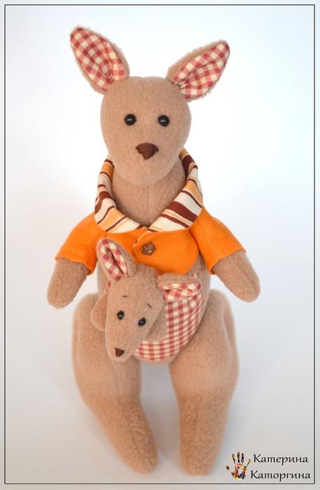 Кукла кенгуру своими руками
