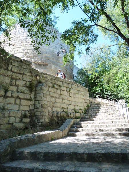 руины аббатства Монмажур23 (450x600, 75Kb)