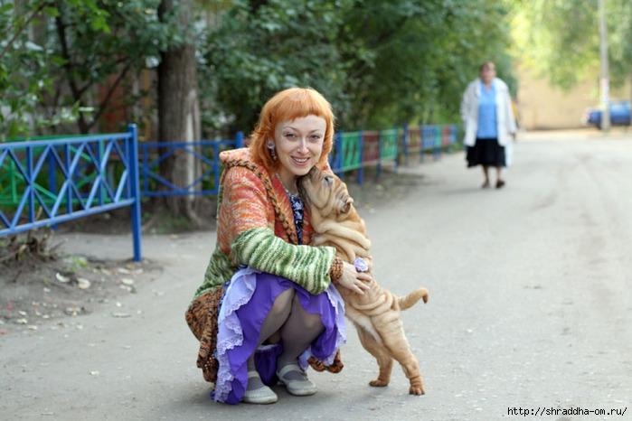 складчатая собака и Shraddha, 1 (700x466, 202Kb)