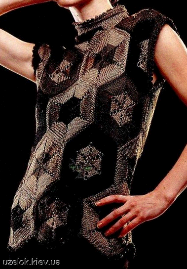 Джемпер женский вязаный из мотивов разноцветных спицами/4683827_20120923_221833 (379x544, 172Kb)