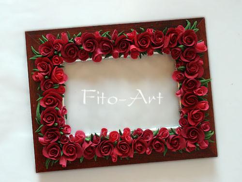 Рамка для фото своими руками цветы