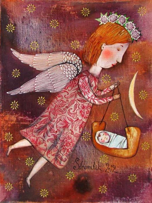 Ангел-хранитель (524x700, 491Kb)