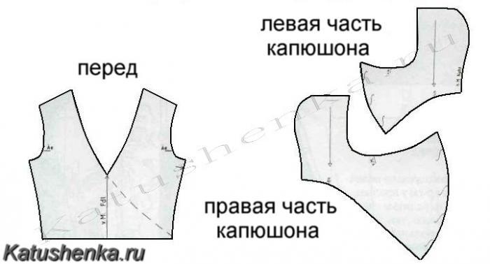 капюшон-воротник или хомут