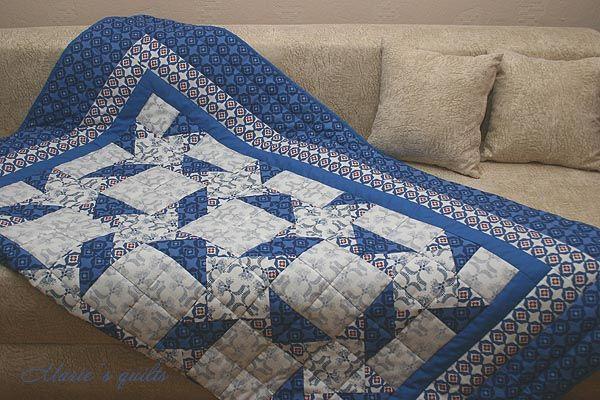 Как сшить лоскутное одеяло своими руками видео