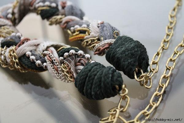 Ожерелье своими руками из кружев LaChat