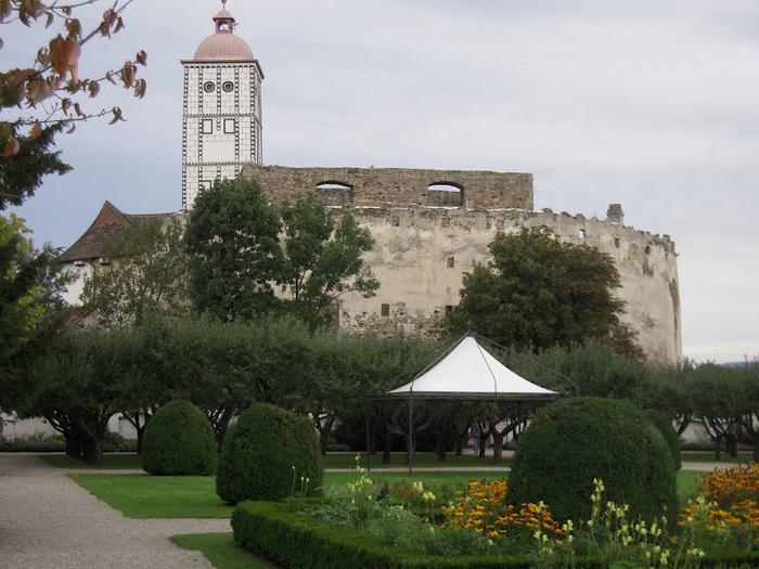 Замок Шаллабург (Schallaburg Castle) - прекрасный замок эпохи Возрождения. 10955