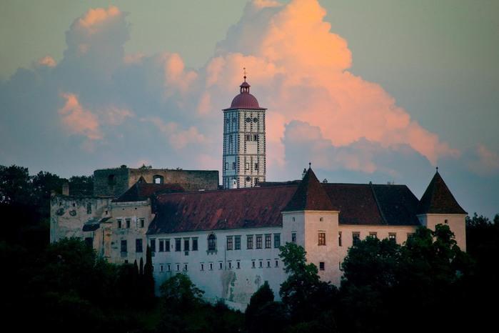 Замок Шаллабург (Schallaburg Castle) - прекрасный замок эпохи Возрождения. 91841