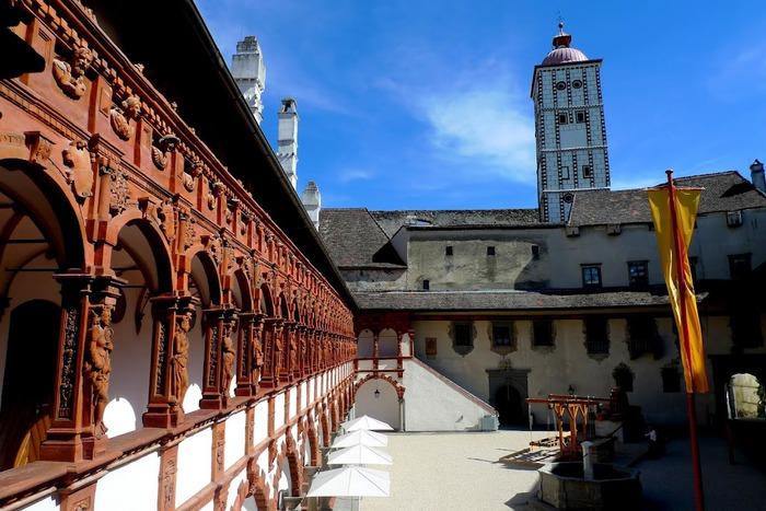 Замок Шаллабург (Schallaburg Castle) - прекрасный замок эпохи Возрождения. 29834