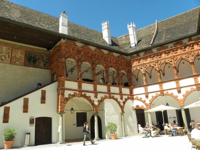 Замок Шаллабург (Schallaburg Castle) - прекрасный замок эпохи Возрождения. 86849