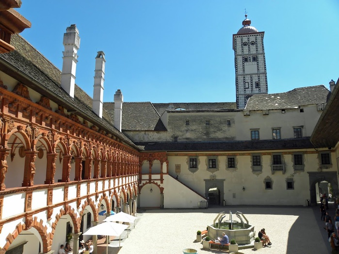 Замок Шаллабург (Schallaburg Castle) - прекрасный замок эпохи Возрождения. 85201