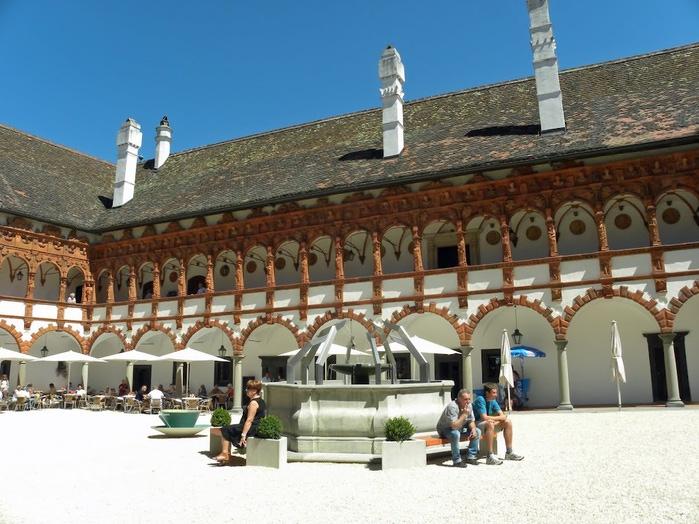 Замок Шаллабург (Schallaburg Castle) - прекрасный замок эпохи Возрождения. 55862