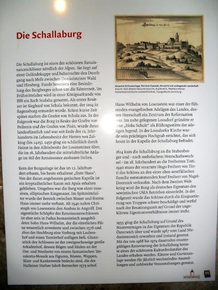 Замок Шаллабург (Schallaburg Castle) - прекрасный замок эпохи Возрождения. 73567