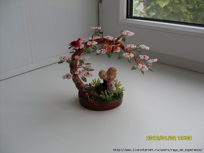 бансаи из... деревья с бисера схемы. объемное плетение из бисера. игрушки на елку из бисера. схемы браслетов из...