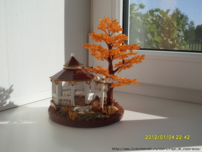 беседка с оранжевым деревом (700x525, 199Kb)