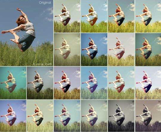 Как установить action (операцию, действие) в программе Photoshop