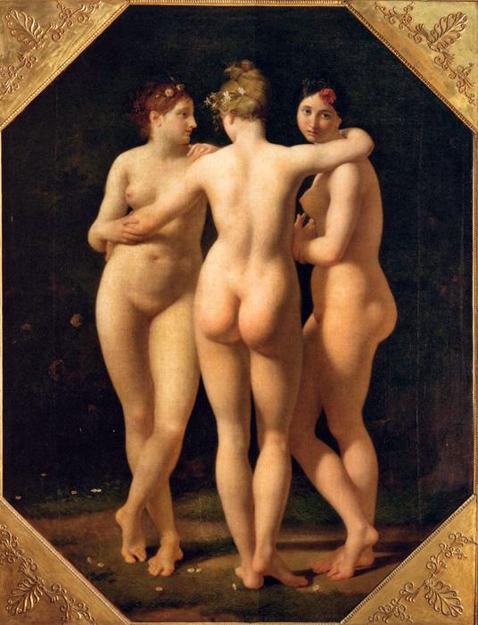 Обнаженная натура и эротика в живописи.