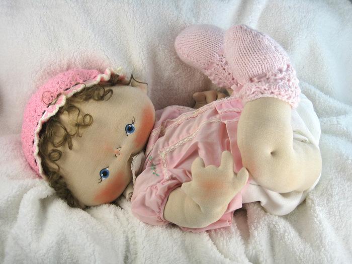 Кукла для младенца своими руками