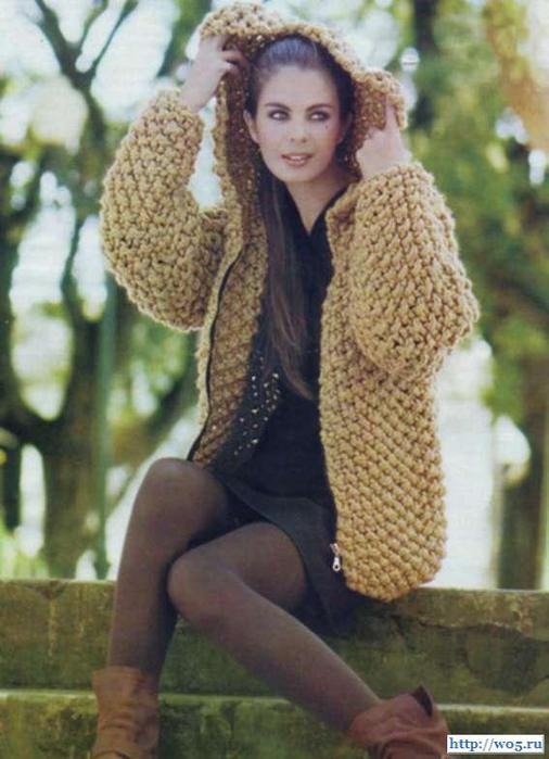 Вязание крючком куртка женская 10