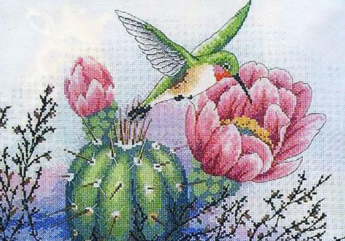 Красивые птицы. Вышивка.