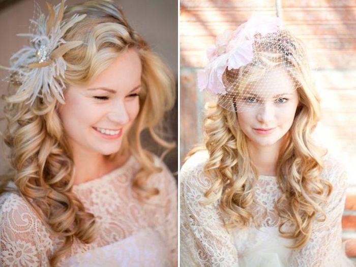 стильные свадебные прически 2013