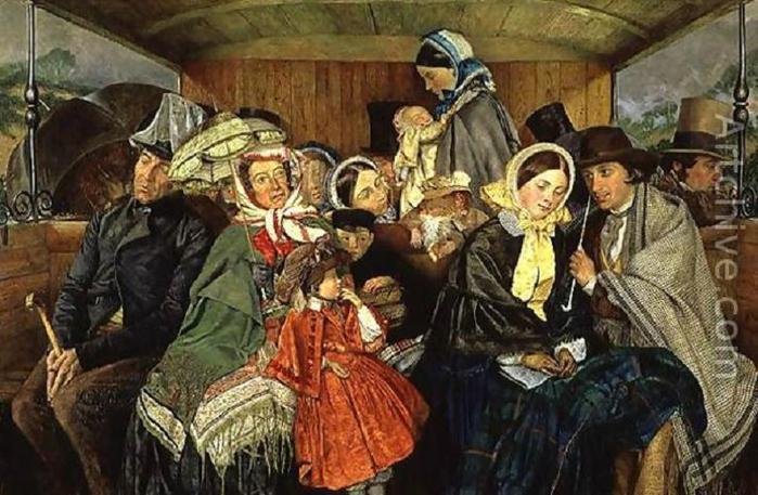 Charles Rossiter - Brighton aller et retour pour trois shillings et six pence - 1859 (700x457, 69Kb)