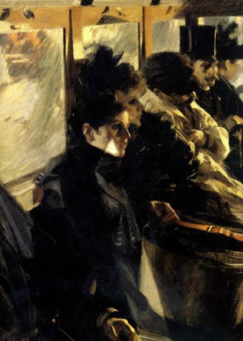Anders Zorn - Omnibus - 1891 (498x700, 54Kb)