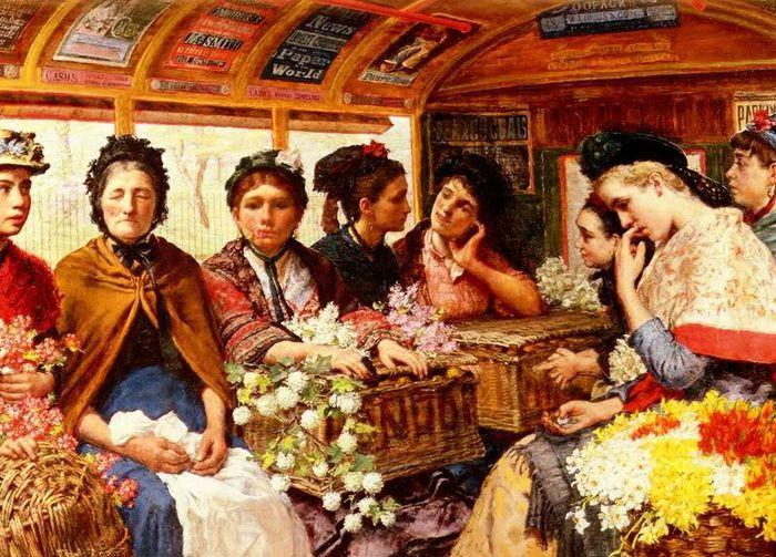 Maria Down Brooks  - Retour de Picadilly - 1882 (700x503, 106Kb)