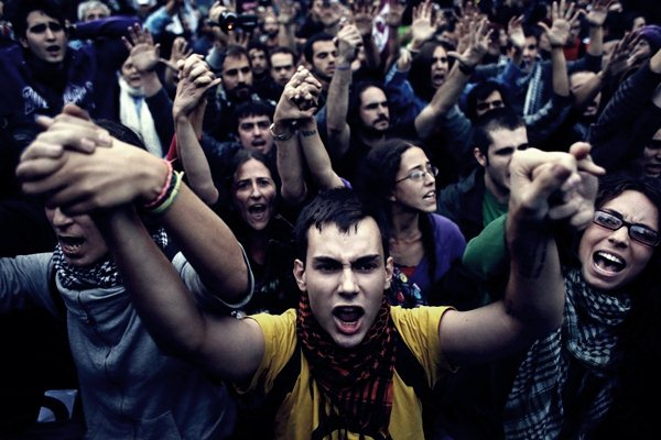 Демонстрации в Мадриде 25 сентября2 (600x400, 56Kb)