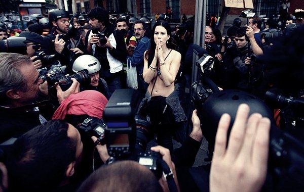 Демонстрации в Мадриде 25 сентября4 (600x380, 56Kb)