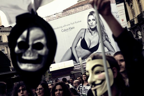 Демонстрации в Мадриде 25 сентября11 (600x400, 49Kb)