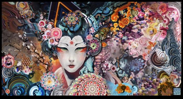 Психоделическое искусство художника Android Jones 2 (700x379, 147Kb)
