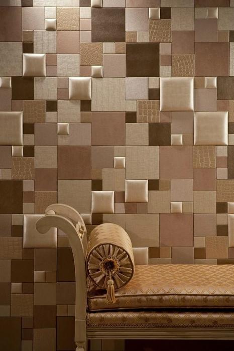 Деревянные плитка на стену своими руками