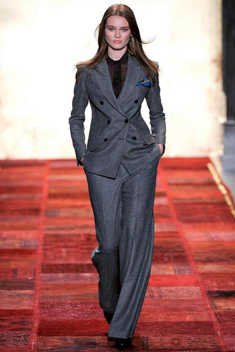 Лучшие женские брючные костюмы 2012 года
