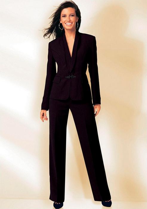 Лучшие женские брючные костюмы 2012 года 19 (493x700, 230Kb)
