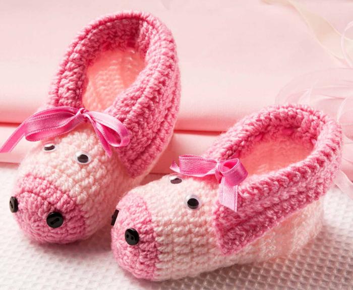 钩针:温暖的儿童靴子 - maomao - 我随心动