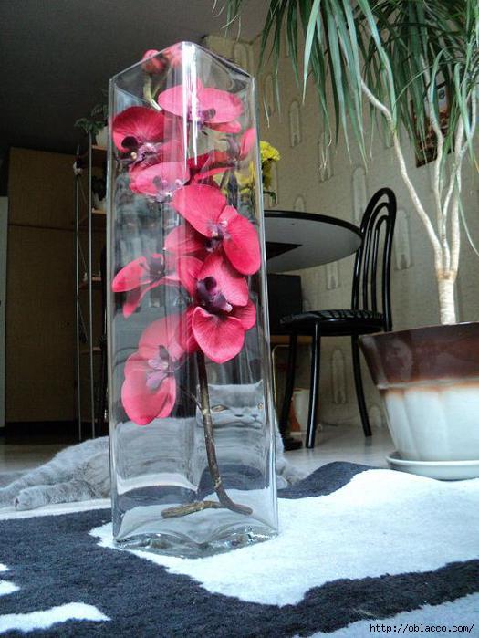 Цветы в вазе своими руками из искусственных цветов 488