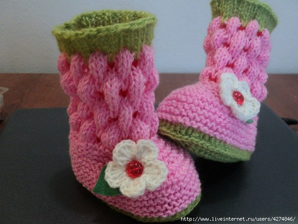Детские носки своими руками. кофты и тунники связанные крючком.