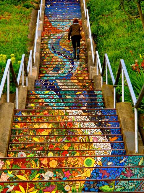 лестница мозаика сан-франциско фото/4552399_ (487x650, 84Kb)