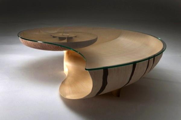 креативный стол ракушка фото (600x399, 28Kb)
