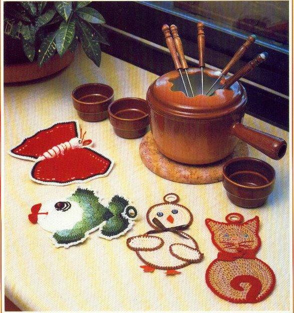 舒适的厨房:锅垫 - maomao - 我随心动